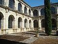 Castromonte monasterio Santa Espina hospederia claustro ni.jpg