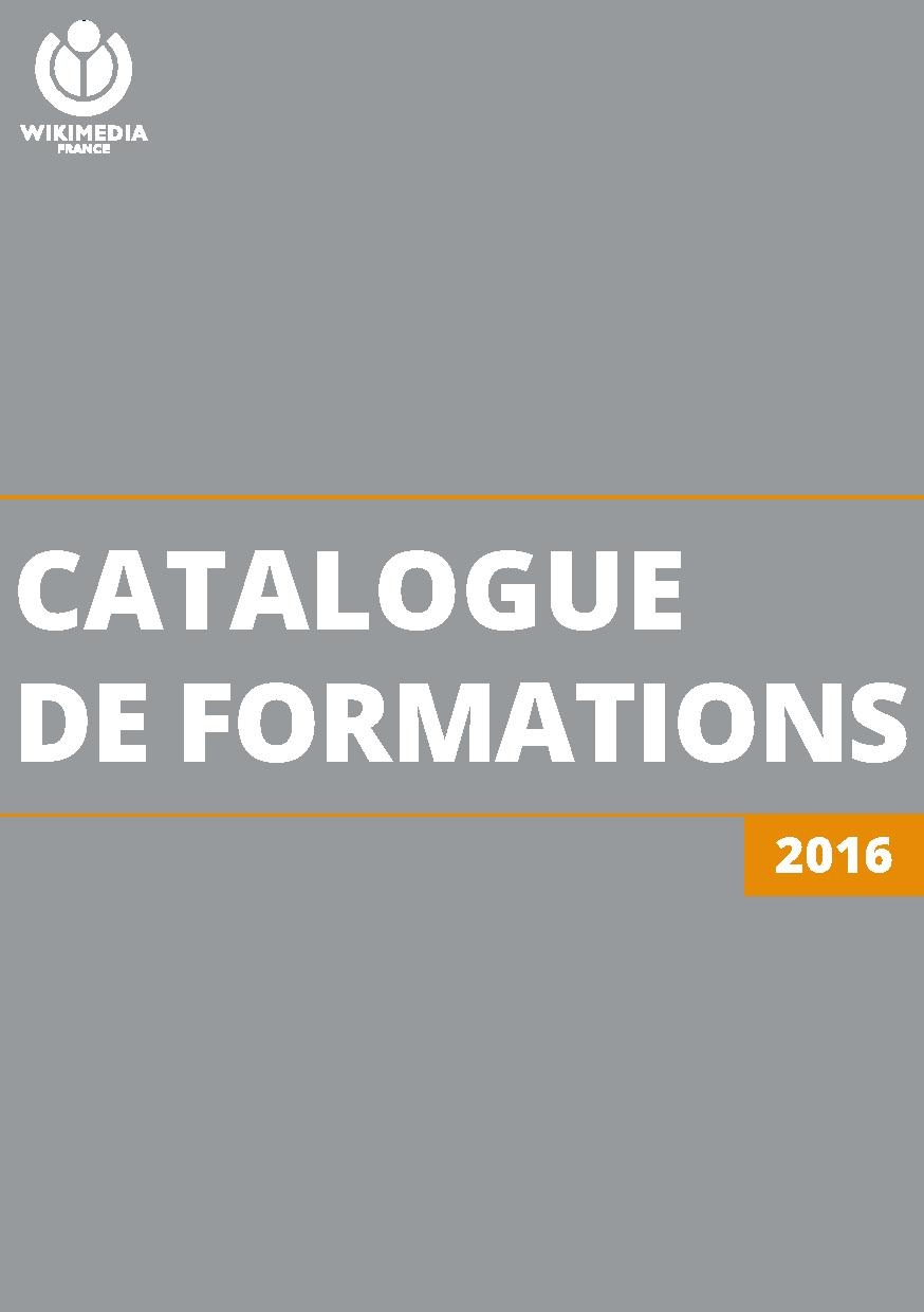 Catalogue de Formations de Wikimedia France