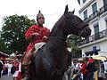 Cavalier romain à la parade d'ouverture des fêtes de Dax (France).JPG