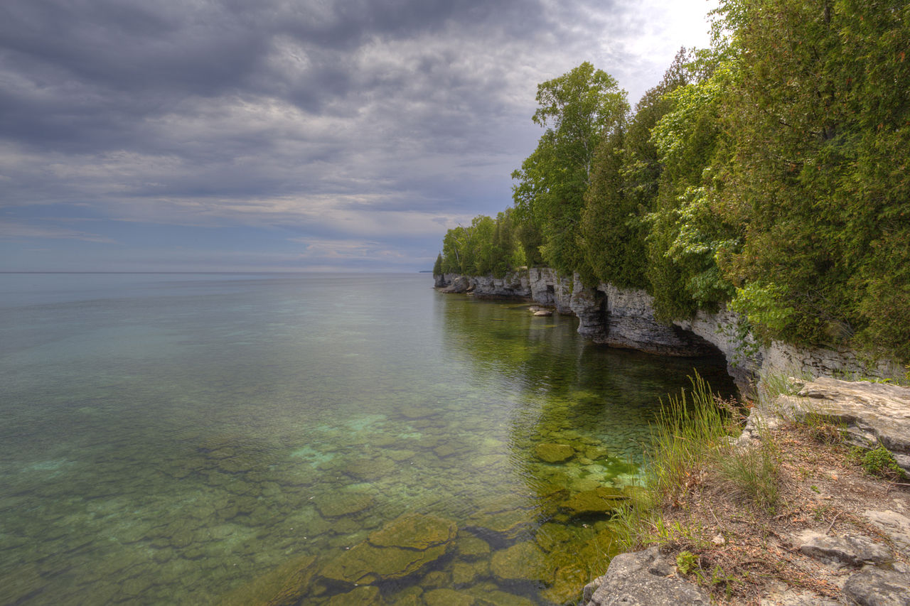 Image result for cave point county park