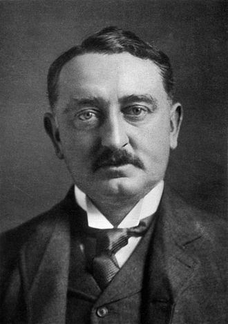 "James Rose Innes - Cecil Rhodes (c. 1900), who ""infected Cape public life with a harmful virus"" that shaped Innes's parliamentary career."