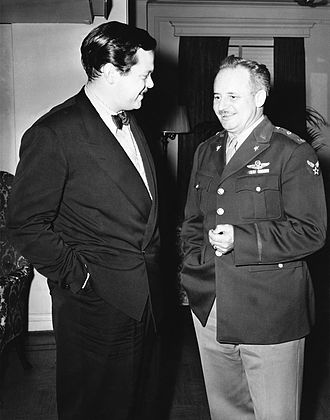Ceiling Unlimited - Orson Welles and Col. Arthur I. Ennis of the U.S. Department of War's Bureau of Public Relations discuss plans for the new radio series Ceiling Unlimited (October 26, 1942)