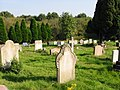 Cemetery opposite the baptist chapel - geograph.org.uk - 987052.jpg