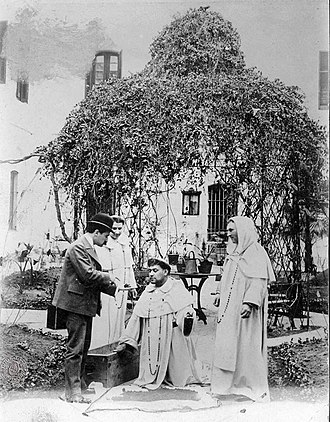 Santo Domingo convent - The ashes from Manuel Belgrano's body, after being exhumated from the church's atrium, 1902.