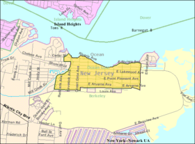 Census Bureau map of Ocean Gate, New Jersey.png