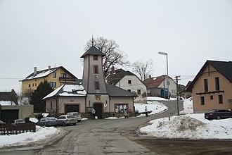 Čížov - Image: Center of Čížov, Jihlava District