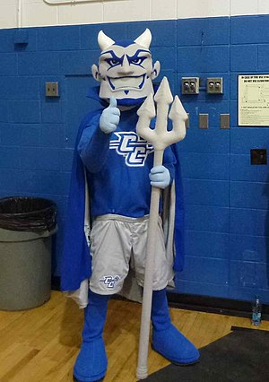 Central Connecticut Blue Devils men's basketball - Mascot of the Central Connecticut State University athletic teams