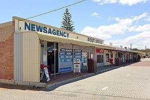 Cervantes, Western Australia - The main shopping strip at Cervantes, 2015