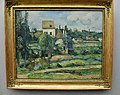Cezanne, Mill on the Couleuvre at Pontoise, 1881, Alte Nationalgalerie, Berlin (39281640045).jpg