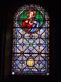 Châlus, Haute-Vienne, France, église Notre-Dame-de-l'Assomption, vitrail 3.JPG