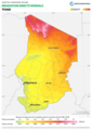 Chad DNI Solar-resource-map lang-FR GlobalSolarAtlas World-Bank-Esmap-Solargis.png