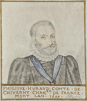 Philippe Hurault de Cheverny - Portrait of Philippe Hurault by Thierry Bellange