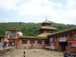 Chandeshwari - Image: Chandeshwori Banepa