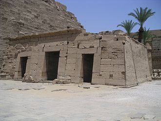 History of the Karnak Temple complex - Seti II's barque shrine