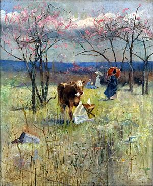 Charles Conder -  An Early Taste for Literature