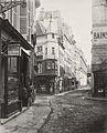 Charles Marville, Rue de l'Ecole de Médecine, ca. 1853–70.jpg