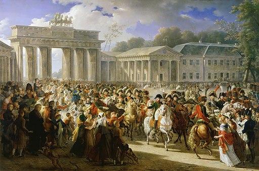 Charles Meynier - Entrée de Napoléon à Berlin. 27 octobre 1806