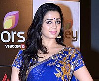 Charmy Kaur at CCL 4 Launch (cropped).jpg