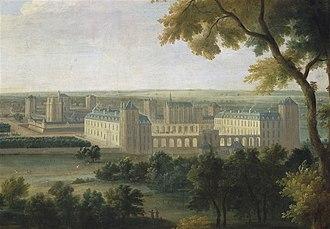 Bois de Vincennes - Image: Chateaude Vincennes Martin 1724
