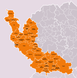 Municipalities of Cheb District