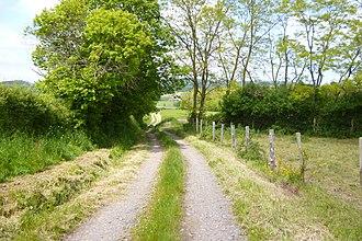 Dompierre-les-Ormes - Image: Chemin de la Vernée