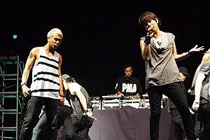 Chemistry (band) - Chemistry performing at Otakon 2011