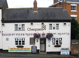 Swinford, Leicestershire - Chequers pub, High Street