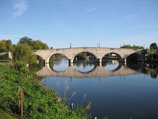 Chertsey Bridge Runnymede, Surrey, KT16