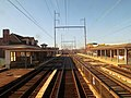 Chester station from passing train, January 2016.JPG
