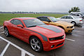 Chevrolet Camaro 2010 RS Ford Mustang 2010 RSideFronts NMUSAF 26Sep09 (14413593790).jpg