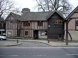 History of Coventry - Cheylesmore Manor (front)