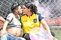 Chico Trans Zack Elías está embarazado de su esposa Diane Rodríguez - First Ecuadorian trans man Zack Elías gets pregnant with his wife Diane Rodríguez HD.jpg