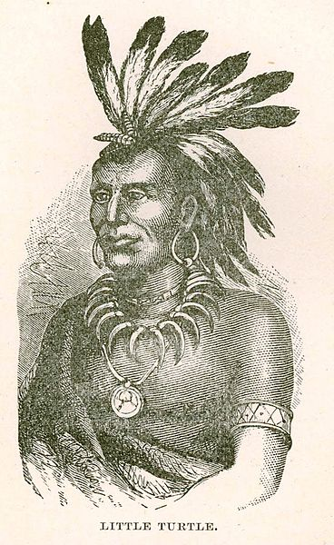Chief Little Turtle, courtesy of the US Army Military History Institute