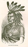 Portrait of Miami tribe war-chief Little Turtle