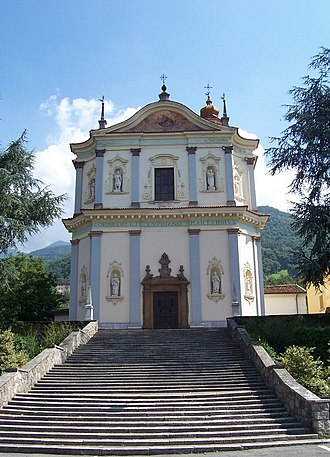 Artogne - Parish church of Saints Cornelius and Cyprian