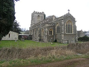 Chilcompton - Image: Chilcompton St John the Baptist's Church geograph.org.uk 137564