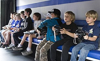 Stereotype - Only boys playing video games exemplifies a common stereotype that video games are predominantly made for and played by boys.
