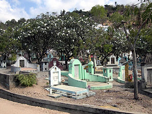Chinese people in East Timor - Chinese Cemetery in Dili.
