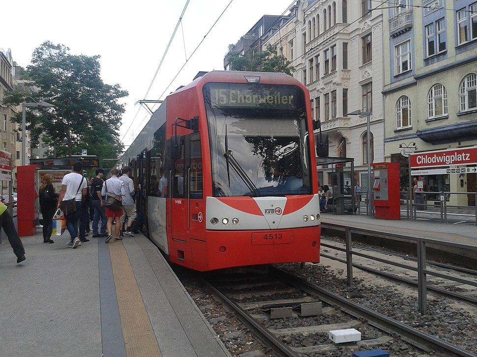 Chlodwigplatz Stadtbahnhaltestelle 2