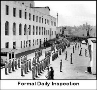 Cheviot Hills Military Academy - Inspection