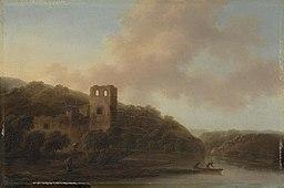 Christian Wilhelm Ernst Dietrich - Ruiny na brzegu rzeki