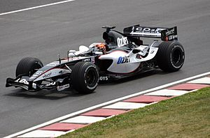 Christijan Albers - Albers driving for Minardi at the 2005 Canadian Grand Prix.