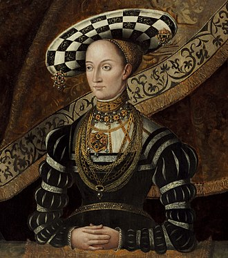 Christine of Saxony - Image: Christine von Sachsen (Jost vom Hoff) crop