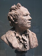 Bust of Gluck, whose face was noticeably pockmarked (Source: Wikimedia)