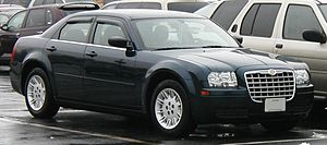 Chrysler 300 photographed in USA.