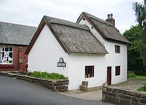 Broughton, Lancashire - Image: Church Cottage Museum, Church Lane, Broughton geograph.org.uk 866939