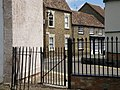 Church yard gate, Kimbolton - geograph.org.uk - 1365955.jpg