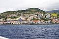 Cidade da Horta vista da Baía da Horta, ilha do Faial, Açores, Portugal.JPG