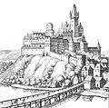 Cieszyn, Merian, 1650 - zamek.jpg