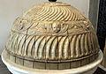 Cimitero dall'antella, arco monumentale dell'ingresso, cupolino in gres della manifattura chini 02.JPG